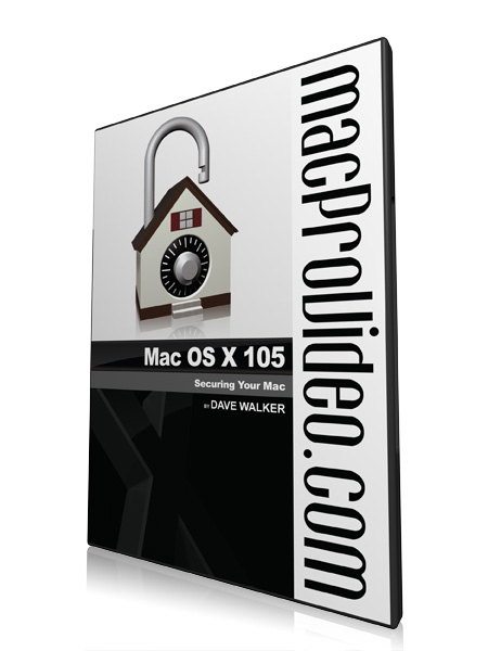 Mac OS X 105: Mac OS Security