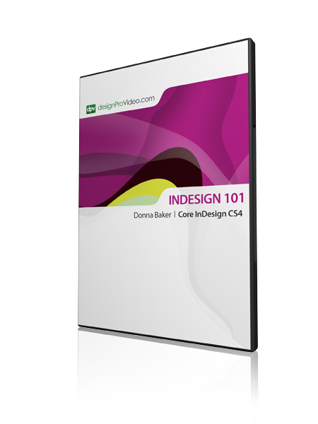 DesignProVideo - InDesign CS4 101 Core InDesign CS4 (1 cd)