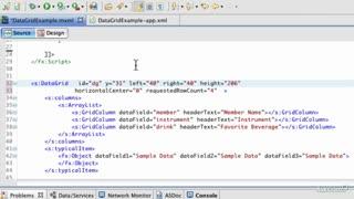 6. Using an MXML DataProvider