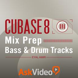Cubase 8 303 Mix Prep: Bass & Drum Tracks Product Image