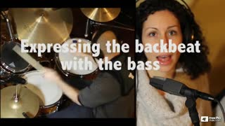 3. Expressing the Backbeat