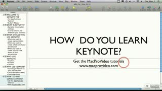 17. Quitting Keynote