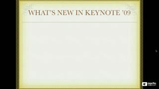 02. What's New in Keynote '09