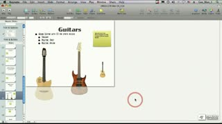 58. Resizing and Positioning Pictures with the Inspector