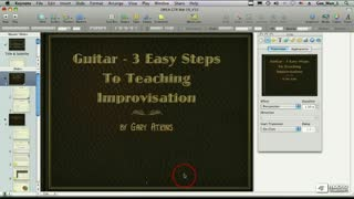 72. Using Transitions to Organize Your Slides