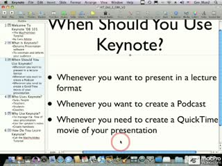 25. Quit Keynote Key Command