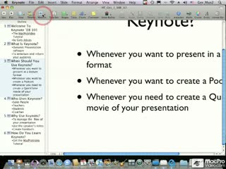 33. Creating A New Presentation