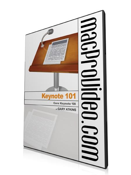 Keynote 101: Core Keynote '08