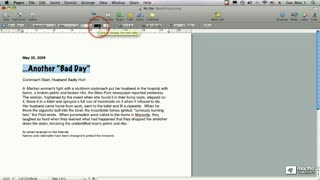 13. Formatting Text: Layouts and Styles