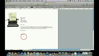 19. Addressing a Letter Using the Address Book