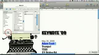 24. Font Panel Actions Button