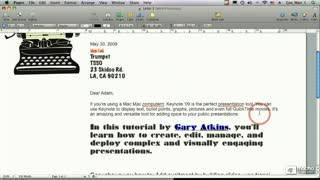 28. Inserting Text from a RTF File