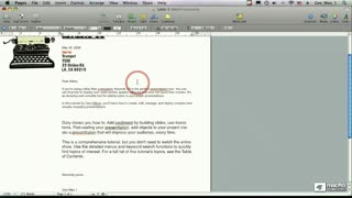 30. Copying & Pasting Paragraph Style