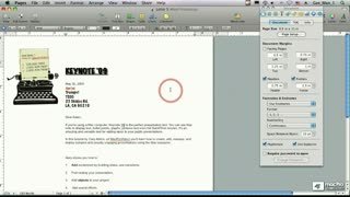 46. Page Setup Facing Pages