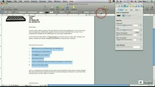 48. Using Text Bullets in Lists