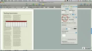 68. Working with Table Headers and Footers