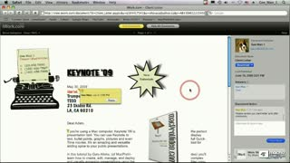 81. Using iWork.com Part 2