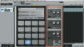 17. Using the Impact Drum Machine - Part 2