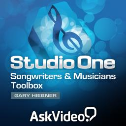 Studio One 101 Songwriters & Musicians Toolbox Product Image