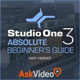 Studio One 101 Absolute Beginner's Guide Product Image