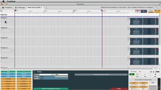 5. Recording Audio to an Audio Track