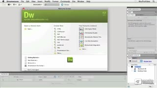 Dreamweaver CS5 101: Core Dreamweaver CS5 - Preview Video