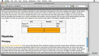8. Inserting Different Types Of Content Into Tables