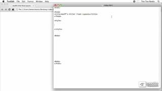 22. Building Ten Ton Dreamweaver's Layouts Using Floats - Part