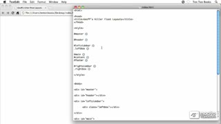 23. Building Ten Ton Dreamweaver's Layouts Using Floats - Part