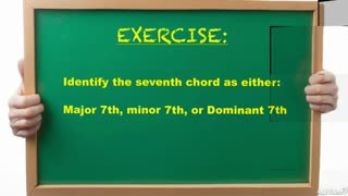 14. Exercise 1: Seventh Chords