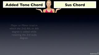 26. Added Tone Chords vs. Sus Chords