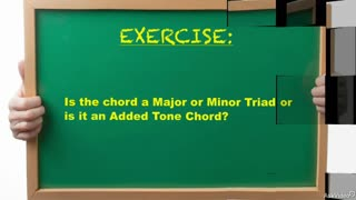 27. Exercise 1:Added Tone vs. Sus Chords