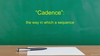 45. Identifying Cadences