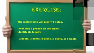 16. Exercise: Hearing Phrase Length