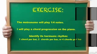 24. Exercise: Harmonic Rhythm