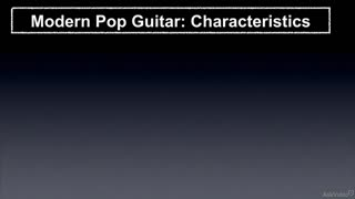 2. Characteristics of Modern Pop Guitar