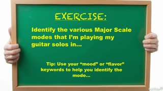 16. Exercise 2: Major Scale Modes