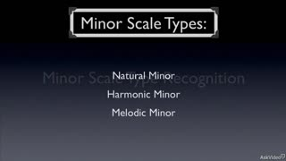 17. Minor Scale Type Recognition
