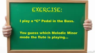 23. Exercise 1: Melodic Minor Modes