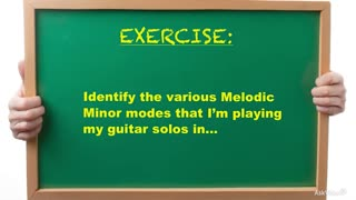 24. Exercise 2: Melodic Minor Modes