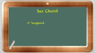 17. Sus Chords in a Progression - Part 1