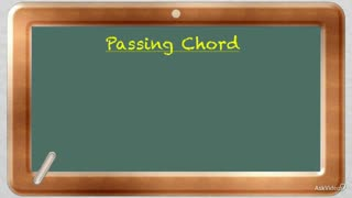 19. Passing Chords in a Progression - Part 1