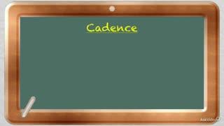 7. Cadences - Part 1