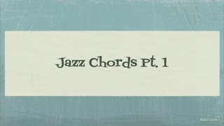 13. 7th Chords in Jazz