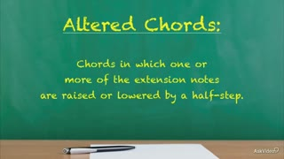 16. Altered Chords