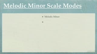 23. The Melodic Minor Modes