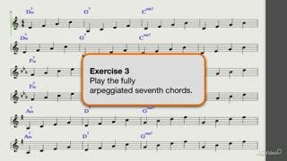 28. 7th Chord Arpeggios