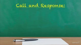 10. Call and Response