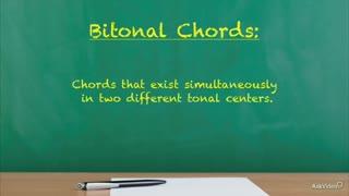 35. Bitonal Chords