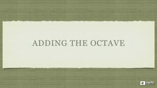 10. Adding the Octave